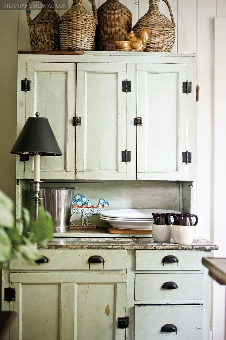 Kitchen craft cabinets atlanta - Common Ground Ideas On Styling A Cabinet Or Cupboard Top