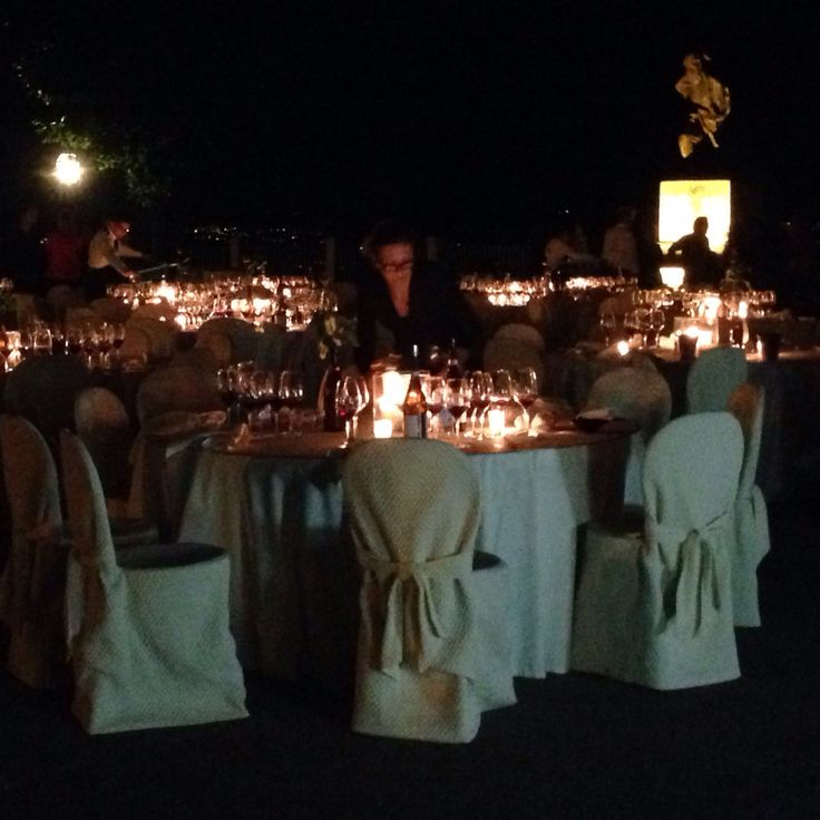 #lamorra: Cena sotto le stelle