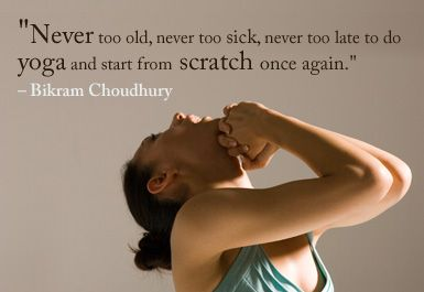 Image result for is it never too late to start yoga