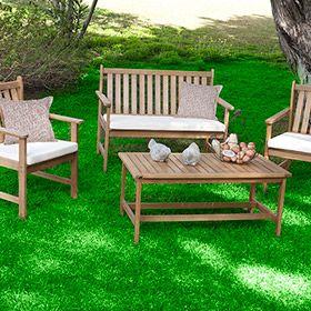 Set de madera de acacia NEW BALI Ref. 16569896 - Leroy Merlin