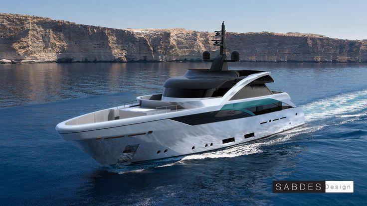 SABDES Design & ThirtyC #superyacht #yacht #design #megayacht #luxury #yachtdesign #ocean www.thirtyc.com