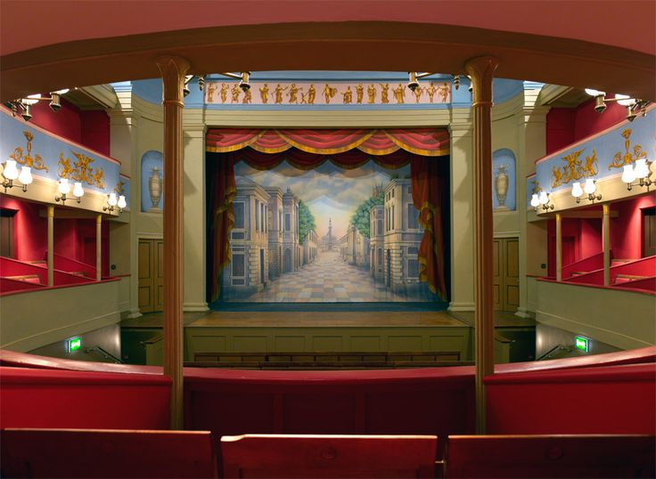 View from the Central Box @Theatre Royal Bury St. Edmunds
