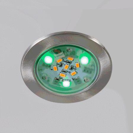 Einbaustrahler Fair Stahl RGB: 20 % Rabatt auf unsere gesamte Beleuchtung! Vom 23.05.-29.05.2016 #Rabatt lampen #leuchten