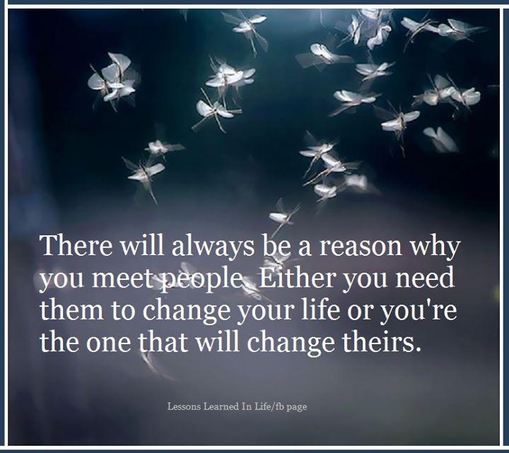 Why We Meet People.