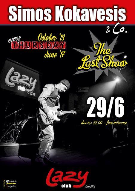 4P: Simos Kokavesis & Co. #Last_Show @LAZY Club