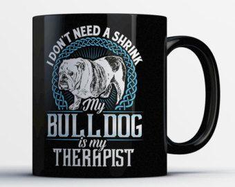Bulldog Inglés de regalo  taza de la mamá de Bulldog