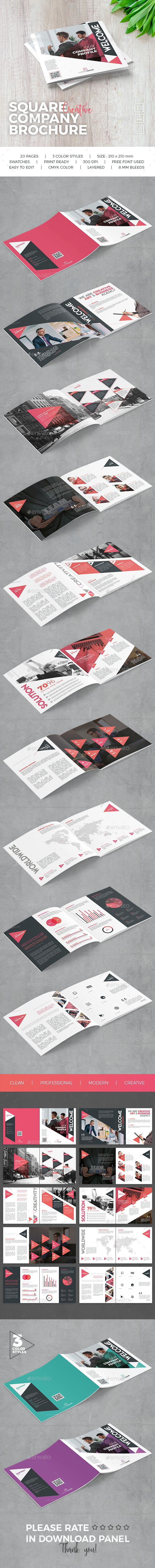 The 7711 best graphic design prints images on pinterest page square company brochure fandeluxe Choice Image
