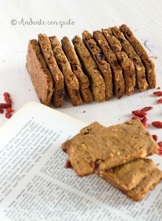 Andante con gusto: I miei biscotti di grano saraceno con bacche di Go...