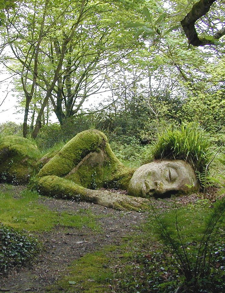 The Lost Gardens of Heligan, Cornualles, England.
