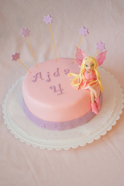 Winx Birthday Cake By epica on CakeCentral.com