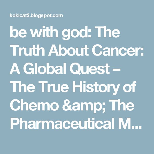 be with god: The Truth About Cancer: A Global Quest – The True History of Chemo & The Pharmaceutical Monopoly – The Deen Show