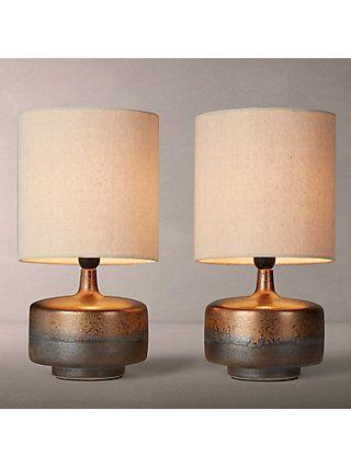22cb0f7153a BuyJohn Lewis   Partners Delaney Metallic Glaze Ceramic Table Lamp