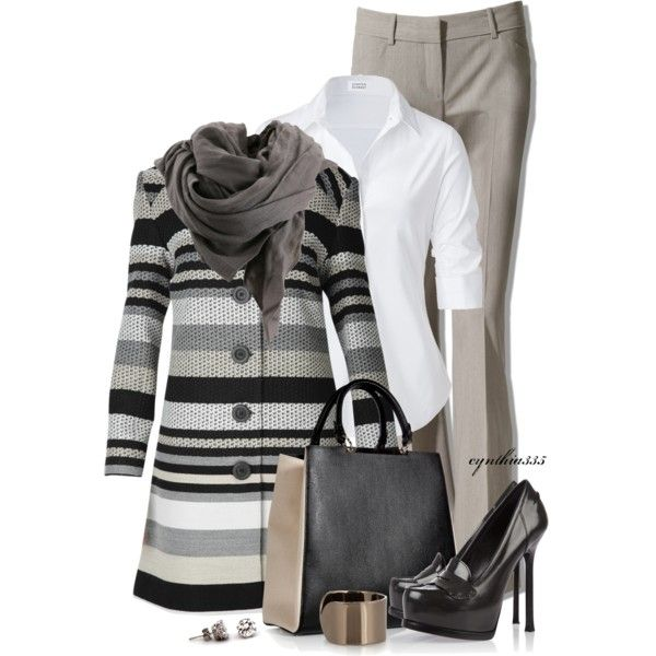 Work Outfit: Women S, Fashion Ideas, Outfit Ideas, Style, Stunning Stripes, Fashionista Trends, Work Outfits, Business Casual