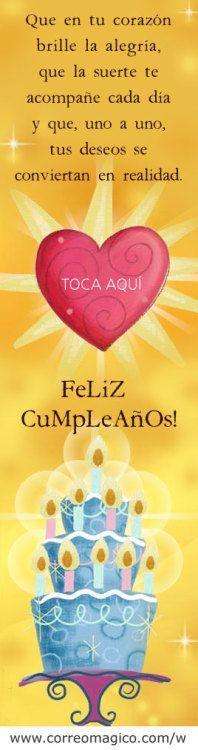 Mensajes De Cumpleaños Para Descargar |Postales de Saludos Feliz http://enviarpostales.net/imagenes/mensajes-de-cumpleanos-para-descargar-postales-de-saludos-feliz-232/ felizcumple feliz cumple feliz cumpleaños felicidades hoy es tu dia