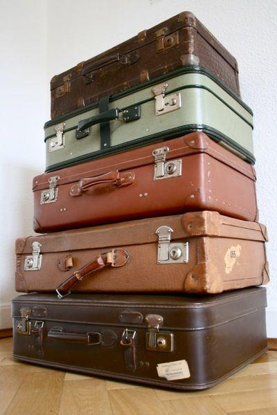 die besten 17 ideen zu vintage koffer auf pinterest vintage gep ck und koffer. Black Bedroom Furniture Sets. Home Design Ideas