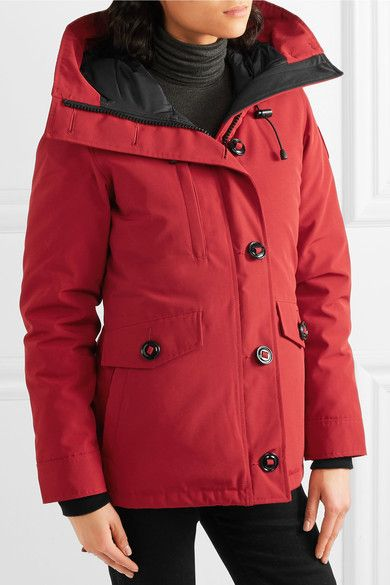 Canada Goose - Rideau Shell Down Parka - Red -