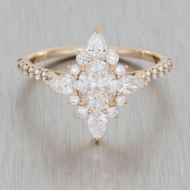 Enchanting Rose Gold Ballerina Ring #ballerinaring