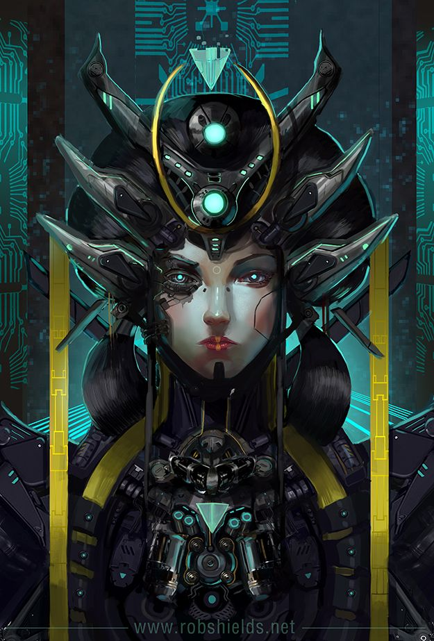 A.I. Queen by Rob Shields 2D