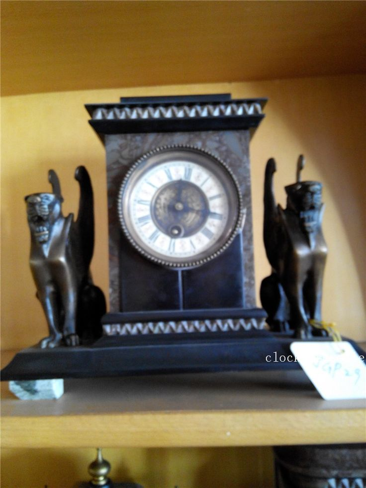 Ретро Suzhong механические часы-скелетоны настенные часы антикварная напольные подсвечники
