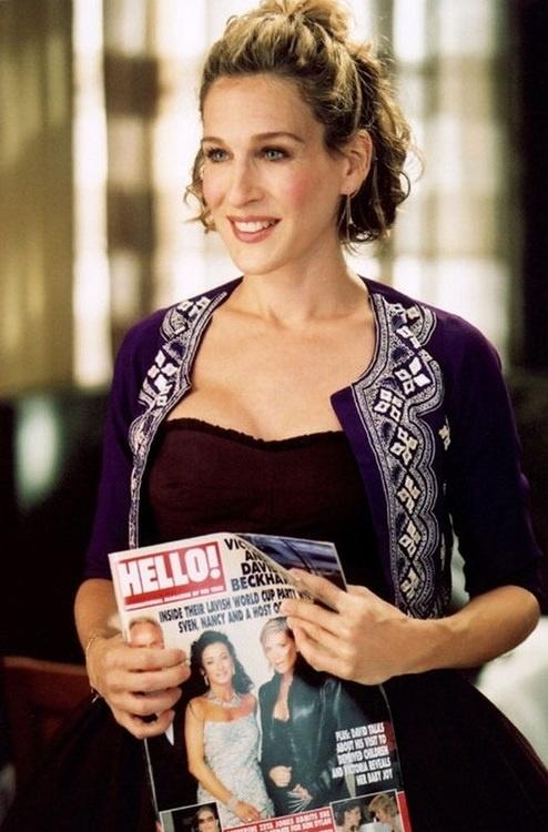 Sex and the City #CarrieBradshaw #HelloMagazine #RevistaHola