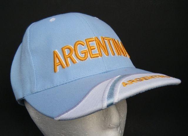ARGENTINA ARGENTINIAN FLAG GORRA SOMBRERO SOCCER HAT BASEBALL CASQUETTE