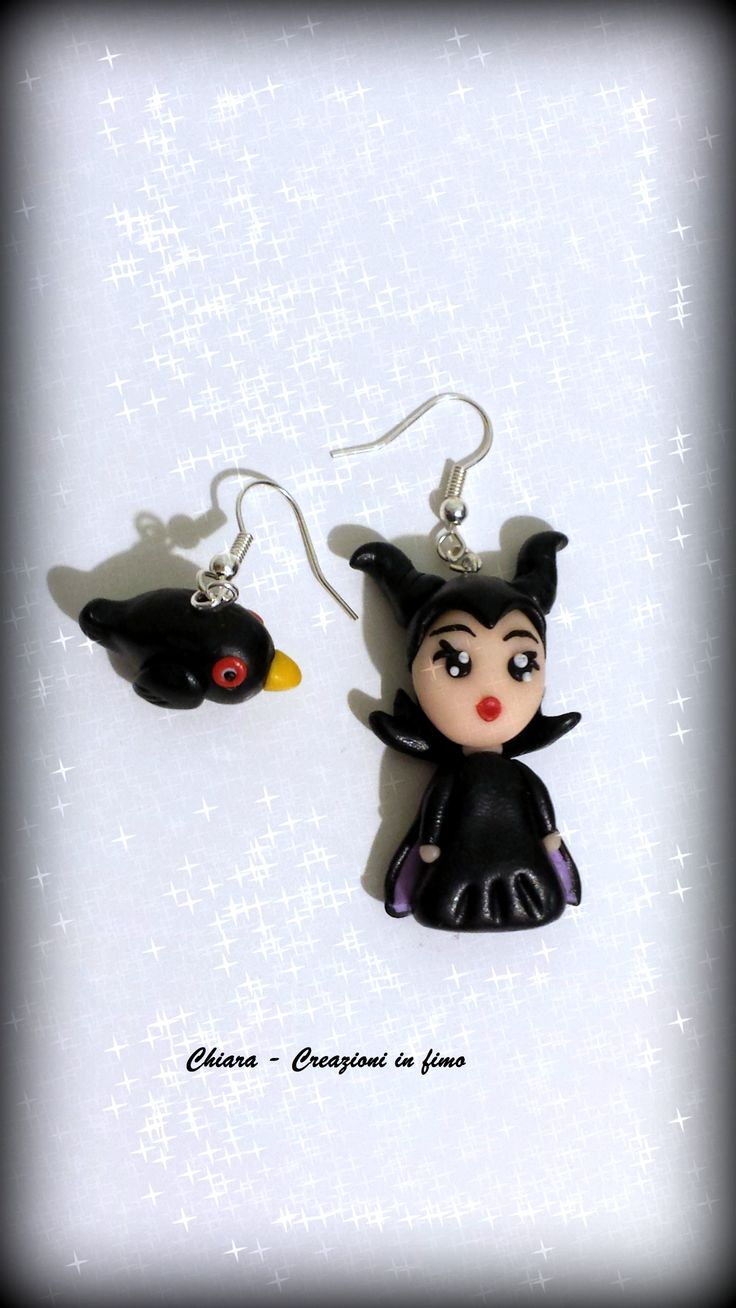 #Maleficent #fimo #polymerclay