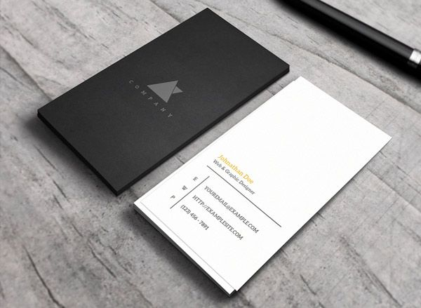 106 best business cards images on pinterest apt ideas arquitetura 20 minimalistic professional business card designs reheart Image collections