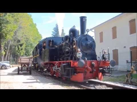Le Conifer : Voyage au bord de la frontière Suisse (A steam train railway in France) - YouTube