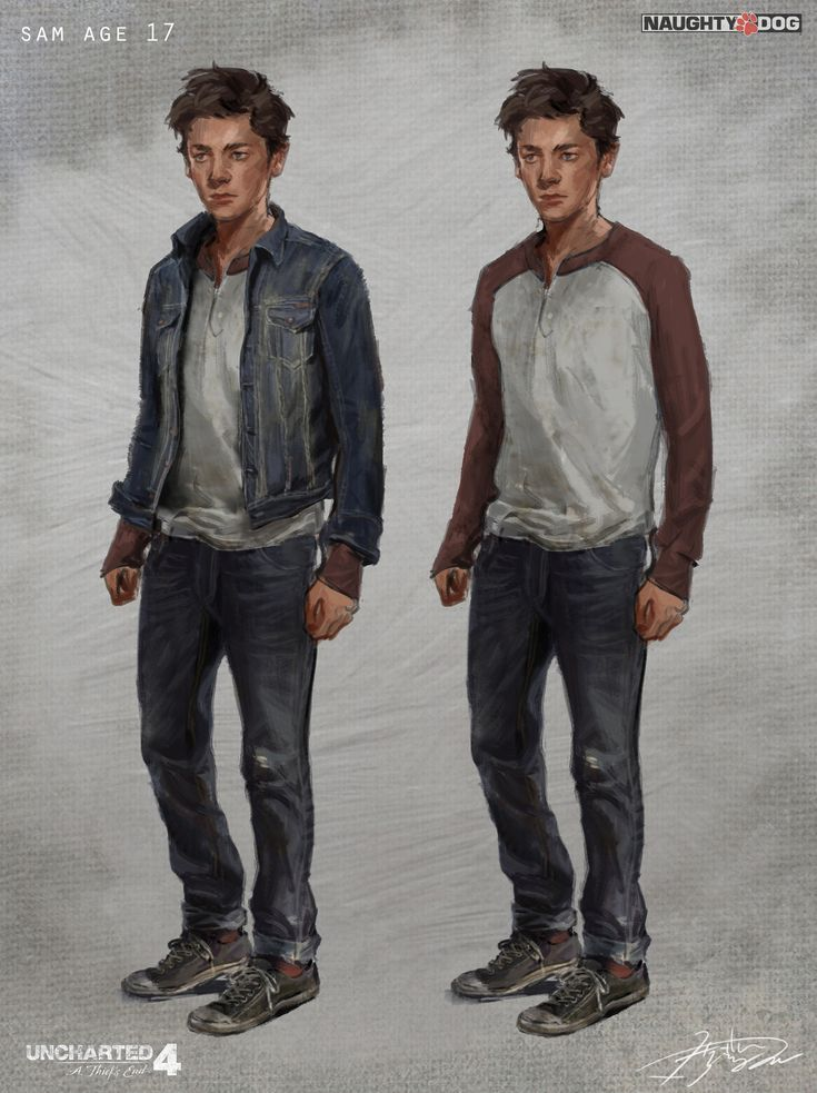 Uncharted 4: Young Sam, Hyoung Nam on ArtStation at https://www.artstation.com/artwork/PyWEo?utm_campaign=notify&utm_medium=email&utm_source=notifications_mailer
