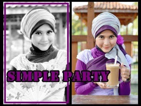 Tutorial Hijab Pesta Wisuda | Tutorial Hijab Modern Paris by Didowardah ...