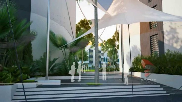 Architectural 3D Walkthrough Animation Township Project  #3dpower #animation