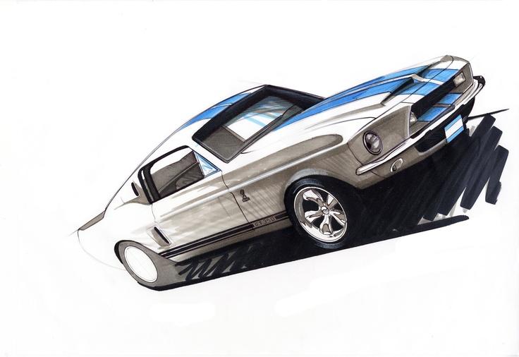 Mustang marker