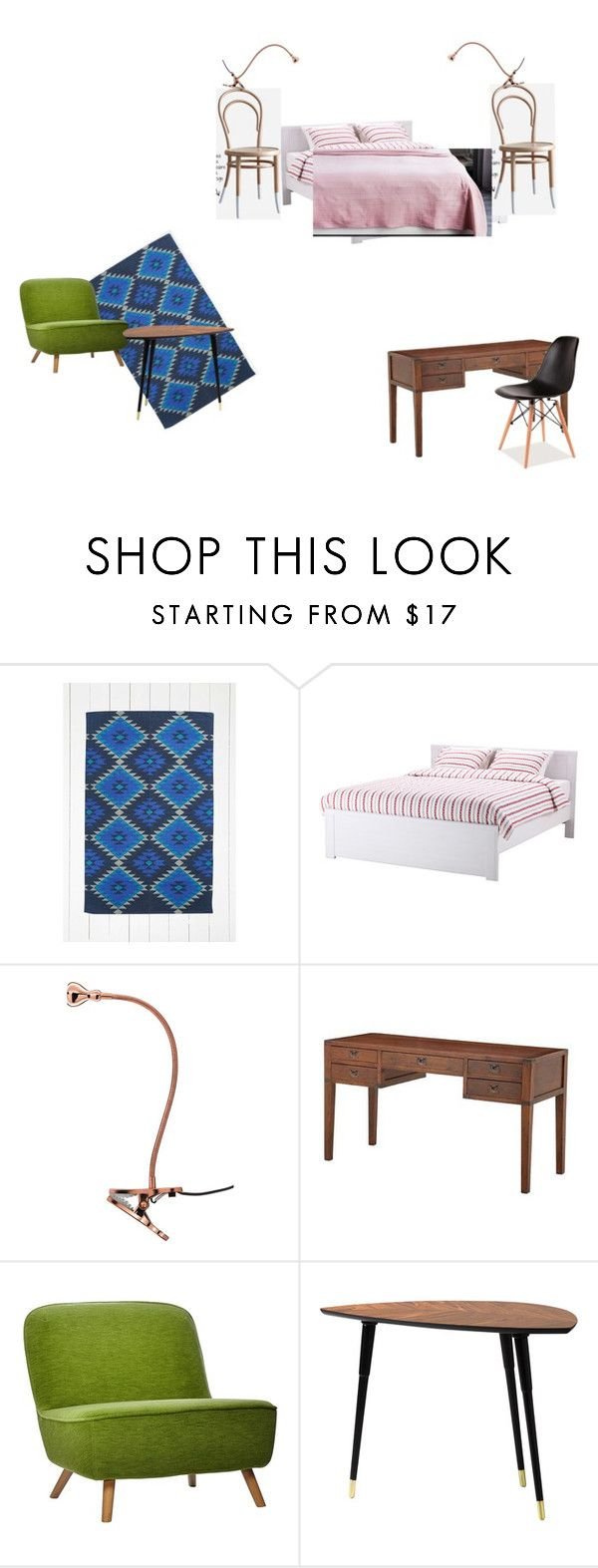 """Nagydiófa big bedroom upstairs right 2"" by dzsu-538 on Polyvore featuring interior, interiors, interior design, home, home decor, interior decorating, Eichholtz, Moooi and bedroom"