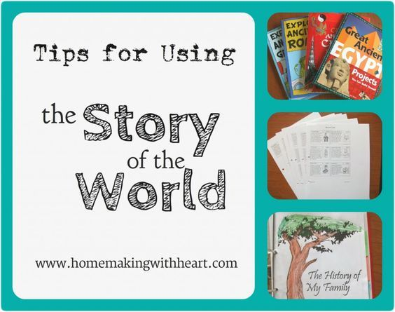 """Tips for Using Story of the World"" - ideas on making the most out of your experience. homemakingwithheart.com"