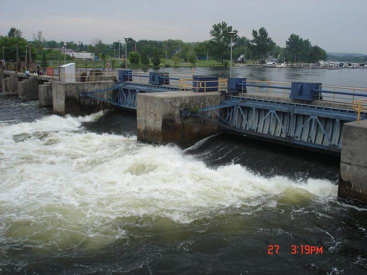 The Trent Severn Dams  -  Peterborough, Ontario