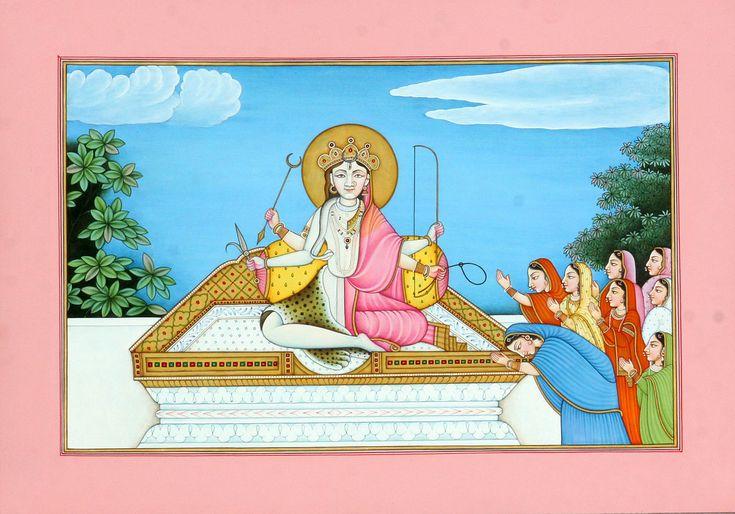 Devi Kameshwari - The Oneness of Shiva and Shakti
