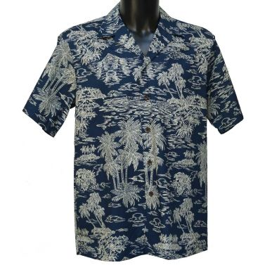 Authentique chemise hawaienne ...Hawaiian waves