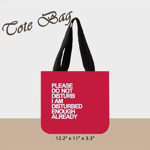 Lazy Days Tote Bag (2 Side)