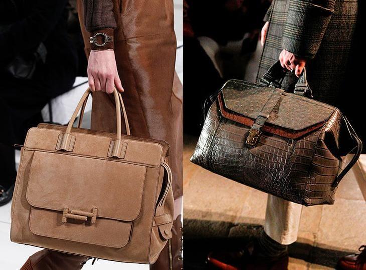Модные портфели осень-зима 2017-2018: Tod's, Bottega Veneta