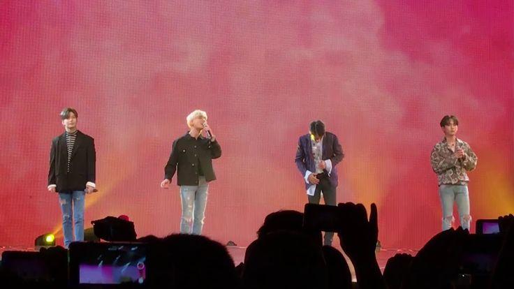 171124 - Shilla Beauty Concert - Jonghyun, Key, Minho & Taemin - An Encore