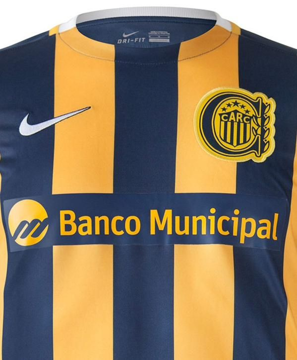 rosario central nike 2015 | ... of the new rosario central 2015 nike home kit are navy rosario central