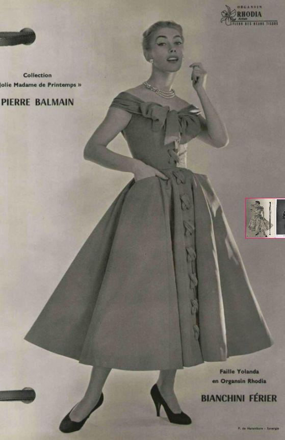 1954 Pierre Balmain