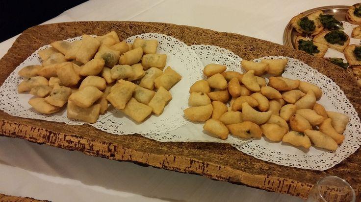 #Gnocco fritto con #Broccoletto e #formaggio #Monte veronese.  Gnocco fritto con Broccoletto e #acciuga.