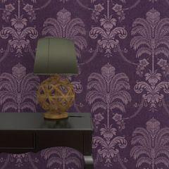 Faites entrer l'originalité dans votre intérieur avec l'intissé LA PALMA. Ce palmier tropical revisité dans un style classico/baroque apportera de l'éclat à vos murs grâce à son fond pailleté mauve.  Dans un tourbillon fantasque, les motifs participent à réaliser une atmosphère mystérieuse et intense : extravagance des ornements en médaillon, envoûtement des dessins en arabesques, glamour flamboyant des fleurs, faste somptueux des silhouettes de chandeliers.  Les imitations de capitons et…