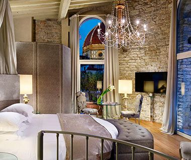 Best Hotels in Italy: Hotel Brunelleschi Florence Hotel Interior Designs