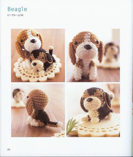 cane beagle amigurumi 1