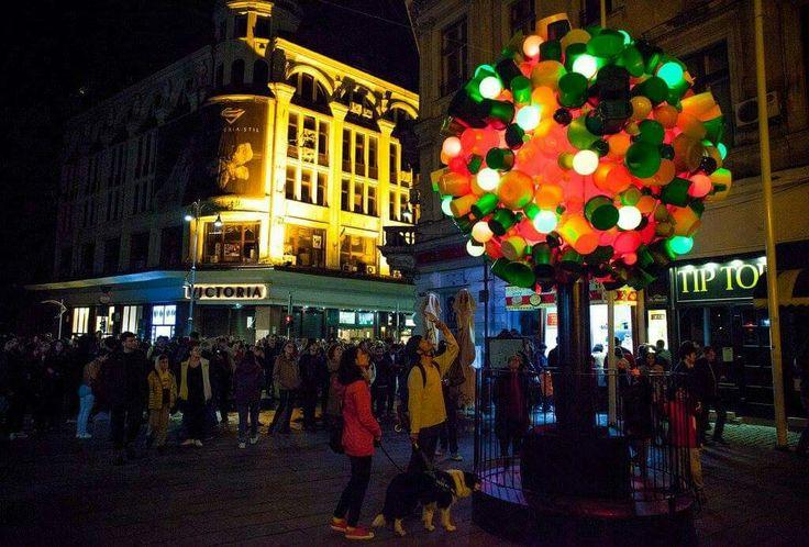 #Bucharest #Light #Festival 5-8 May  Photo: Petru Ivu