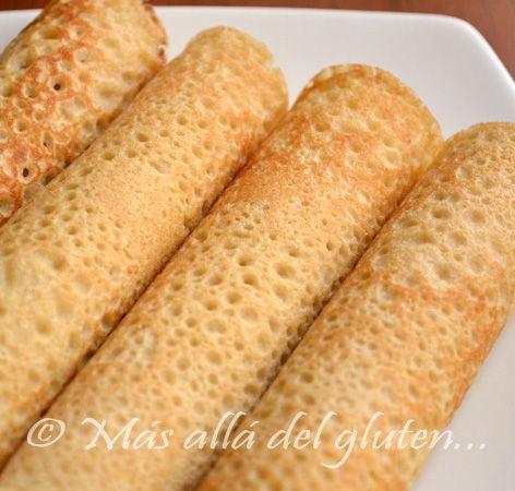creps con harina de arroz