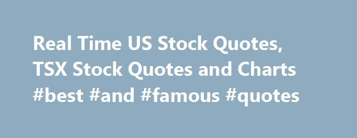 Real Time Stock Quotes Ticker: Best 25+ Stock Market Quotes Ideas On Pinterest