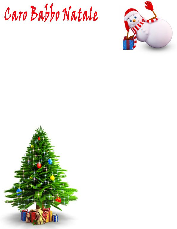 17 best images about lettere a babbo natale on pinterest - Babbo natale stampabile ...